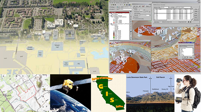 examples of types and uses of Geographical Information Systems (GIS)